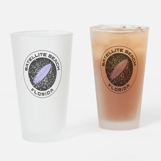 Florida - Satellite Beach Drinking Glass