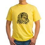 English Trumpeter Pigeon Yellow T-Shirt