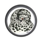 English Trumpeter Pigeon Wall Clock