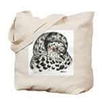 English Trumpeter Pigeon Tote Bag