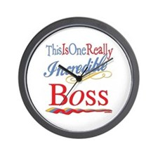 Incredible Boss Wall Clock