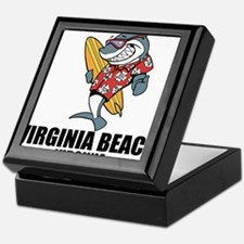 Virginia Beach, Virginia Keepsake Box