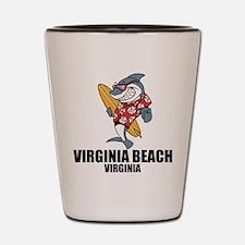 Virginia Beach, Virginia Shot Glass