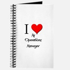 I Love My Operations Manager Journal