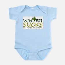 Winter Sucks - I moved to Arizona Body Suit
