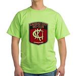 KCSC Logo Green T-Shirt