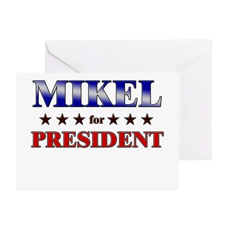 MIKEL for president Greeting Cards (Pk of 20)