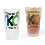 KCSC Logo Drinking Glass