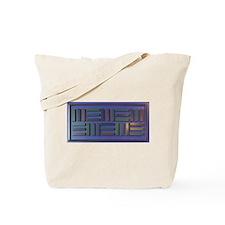 Jackie-Blue Tote Bag