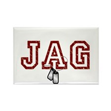 jag stars and stripes 4 Rectangle Magnet