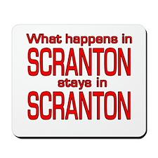 What happens in SCRANTON Mousepad