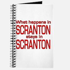 What happens in SCRANTON Journal