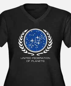 United_Federation_of_Planets2 Plus Size T-Shirt