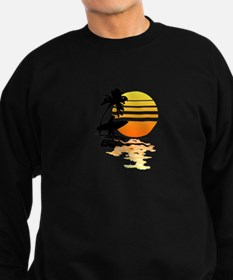 Surfing Sunrise Sweatshirt