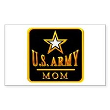 Army Mom Rectangle Decal