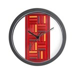 Jackie-Red Wall Clock