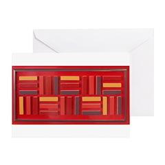 Jackie-Red Greeting Card