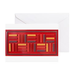 Jackie-Red Greeting Cards (Pk of 10)