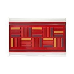Jackie-Red Rectangle Magnet (10 pack)