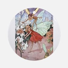 Fairies & Pixies - Florence Mary An Round Ornament