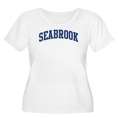 SEABROOK design (blue) Women's Plus Size Scoop Nec