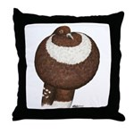 Pouter Pigeon Throw Pillow