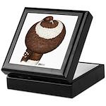 Pouter Pigeon Keepsake Box