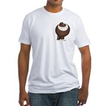 Pouter Pigeon Fitted T-Shirt