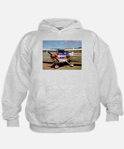 Women fly: high wing aircraft Hoodie