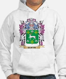 Curtin Coat of Arms (Family Cres Hoodie
