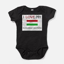 Cute Hungarian language Baby Bodysuit