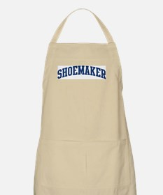 SHOEMAKER design (blue) BBQ Apron