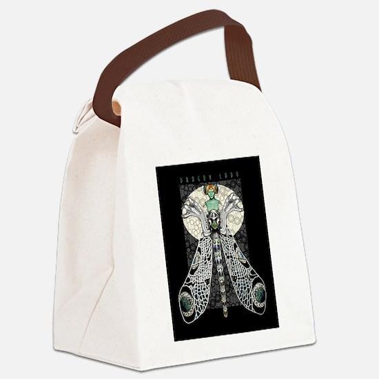 Dragon Lady Canvas Lunch Bag