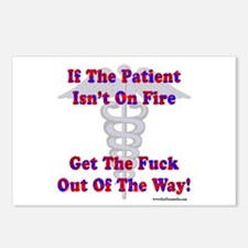 Patient Isnt On Fire Gifts Postcards (Package of 8