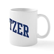 SCHWEITZER design (blue) Mug