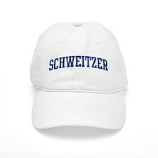 SCHWEITZER design (blue) Baseball Cap