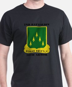 SSI - 2nd Battalion, 70th Armor with Tex T-Shirt