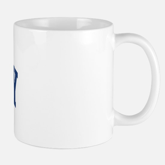 SHIVELY design (blue) Mug