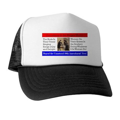 """""""Unnatural Amendment """"Trucker Hat"""