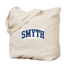 SMYTH design (blue) Tote Bag