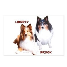 Libby/Brook Postcards (Package of 8)