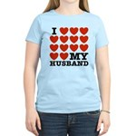 I Love My Husband Women's Light T-Shirt