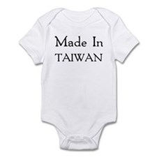 Made In Taiwan Infant Bodysuit
