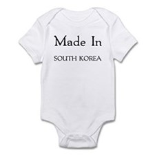 Made In South Korea Infant Bodysuit