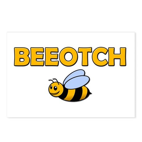 Beeotch Postcards (Package of 8)