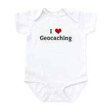 I Love Geocaching Infant Bodysuit