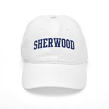 SHERWOOD design (blue) Baseball Cap