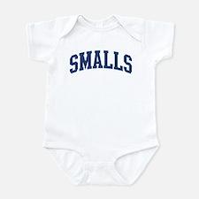 SMALLS design (blue) Infant Bodysuit