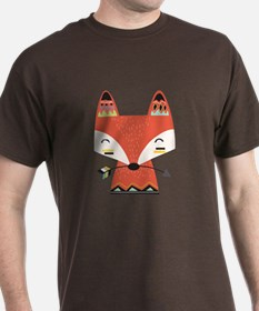 Red Fox With Arrow T-Shirt