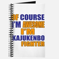 I Am Awesome Kajukenbo Martial Arts Fighte Journal